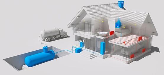 Монтаж/установка систем отопления