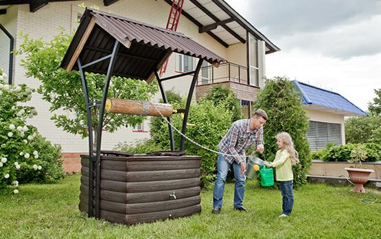 Монтаж водоснабжения из колодца